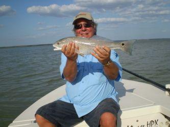Everglades Redfish on Fly